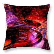 Jubilee Abstract Throw Pillow