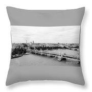 Jubilee Bridge Throw Pillow