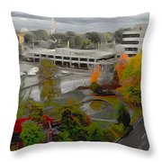 Jubilee Park Throw Pillow