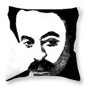Jubran Khalil Jubran Throw Pillow