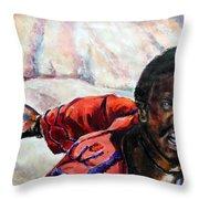 Judas - Too Far Throw Pillow