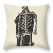Judge Oscar O. Death Throw Pillow