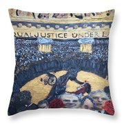 Judge Richard J Leon Complicity  Throw Pillow