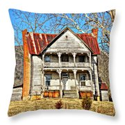 Judged Throw Pillow