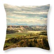 Judith River Breaks Throw Pillow