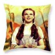 Judy Garland, Dorothy Throw Pillow
