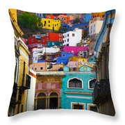 Juegos In Guanajuato Throw Pillow