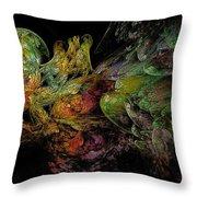Juggernaut-4 Throw Pillow
