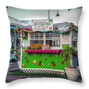 Juices And Smoothies Throw Pillow