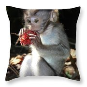 Juicy Fruit 2 Throw Pillow