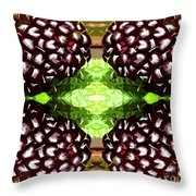 Juicy Fruity Throw Pillow