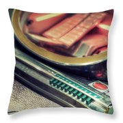 Jukebox Throw Pillow