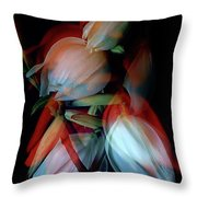 Jukka Flowers Throw Pillow