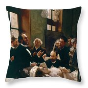Jules Emile Pean (1830-1898) Throw Pillow