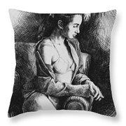 Julia 2 Throw Pillow