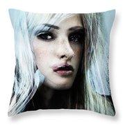Julia Wants Space Throw Pillow