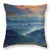 Julian Alps Throw Pillow