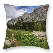 Julian Alps Throw Pillow
