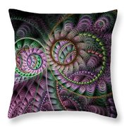 Julian Circus Rings Throw Pillow