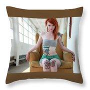 Julie Kennedy Throw Pillow