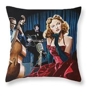 Julie London - Cry Me A River Throw Pillow