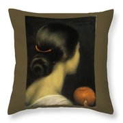 Julio Romero De Torres Throw Pillow