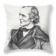 Julius Schnorr Von Carolsfeld, 1794 Throw Pillow