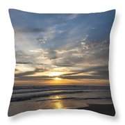 July 2015 Sunset Part 3 Throw Pillow