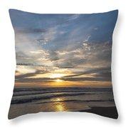 July 2015 Sunset Part 3 Throw Pillow