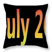 July 26 Throw Pillow