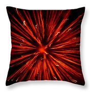 July 4 Fireworks Throw Pillow