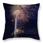 July 4th 2015 #1 Throw Pillow