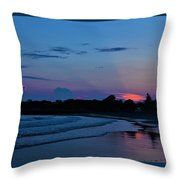 July Evening  Throw Pillow