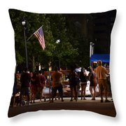July Fourth Throw Pillow