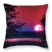 July Sunrise 1 Throw Pillow