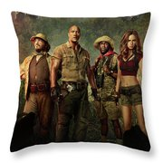 Jumanji Welcome To The Jungle 2.0 Throw Pillow