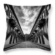 Jumel Terrace Historic District, Upper West Side New York Throw Pillow