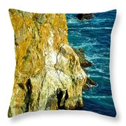 Jump Far Throw Pillow