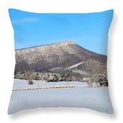 Jump Mountain Throw Pillow