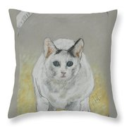 Jumping Through Hoops Throw Pillow