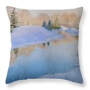 Junction Creek Throw Pillow