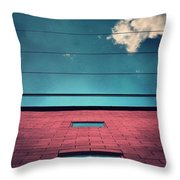 June 25 2010 Throw Pillow