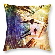 June 5 2010 Throw Pillow