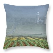 June Morning Throw Pillow