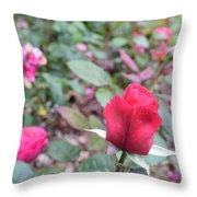 June Rose #4 Throw Pillow