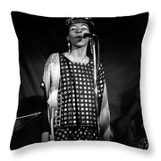 June Tyson Throw Pillow