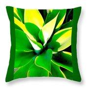 Jungle Dance Throw Pillow