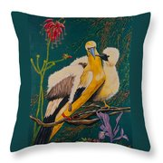 Jungle Baby Throw Pillow