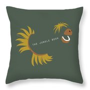 The Jungle Book - Alternative Movie Poster Throw Pillow