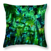 Jungle Colors Throw Pillow